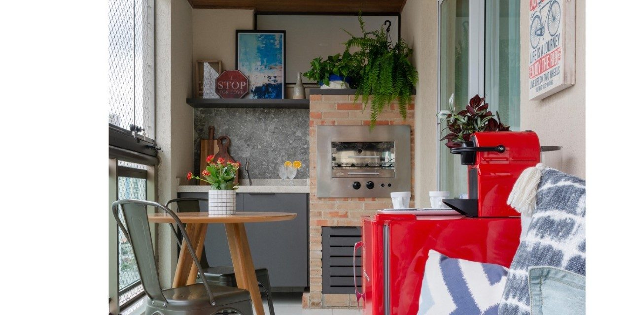 Varanda Multiuso é destaque no apartamento em Niterói