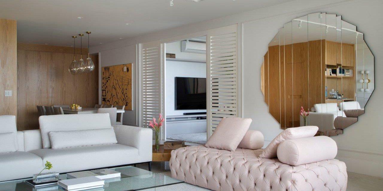 Apartamento de 300 m2 com décor contemporâneo