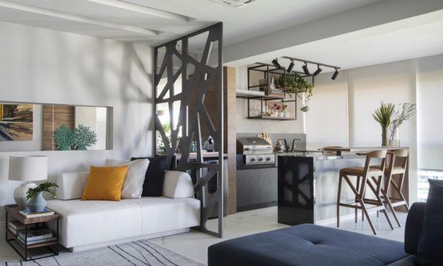 Com a saída de casa dos filhos, casal decidiu reformar o apartamento para aproveitar a nova fase da vida