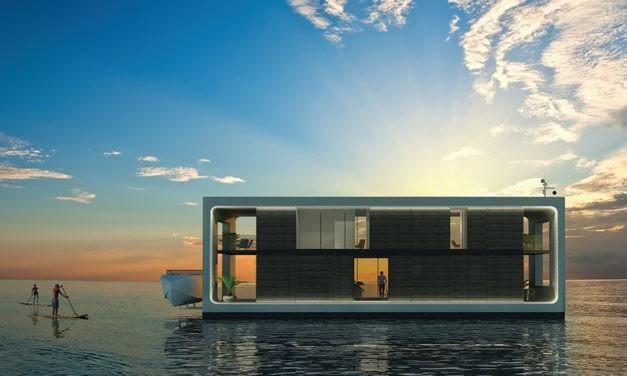 Casa Flutuante já é uma realidade