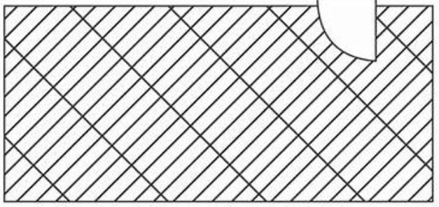 desenho da paginação diagonal