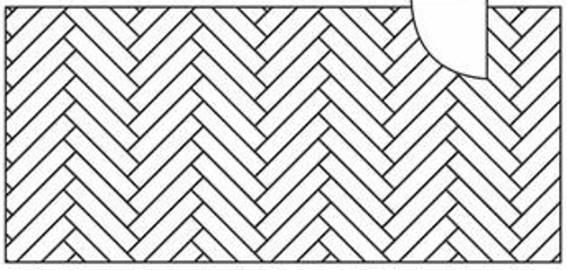 desenho de paginação espinha de peixe