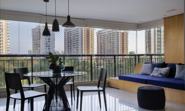 Apartamento na Barra repaginado via Miami