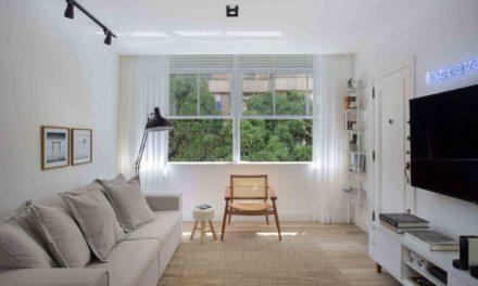 Apartamento de 90m² ganha acessibilidade em reforma