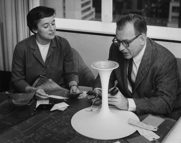 Florence Knoll e Eero Saarinen.