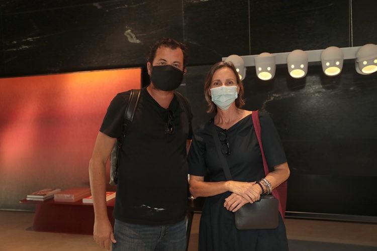 Miguel Pinto Guimarães e Clarissa Schimidt