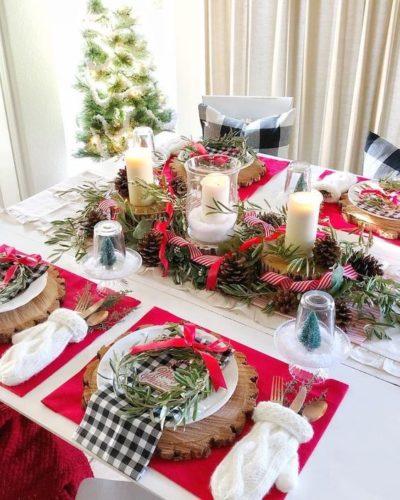 Mesa de Natal.