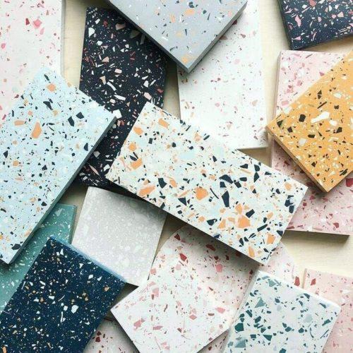 Revisitando o Granilite, varias peças coloridas.