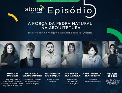 'Stone Summit' – A força da pedra natural na arquitetura