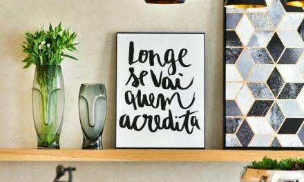 Como usar frases na decoração