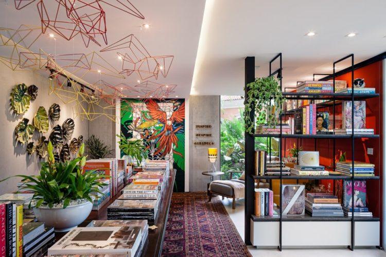 Livraria na Casa Cor Rio