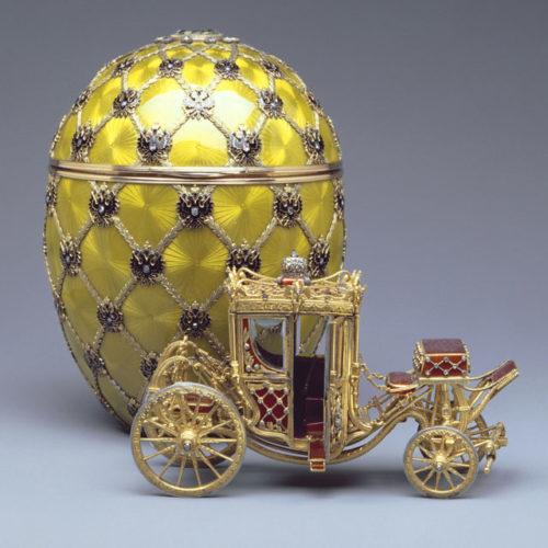 Ovo da coroação, 1897: talvez o ovo mais icônico de Fabergé.