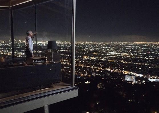 Tendências, seriado Casa Bosch. A casa do detetive fica bem no alto de LA e com uma grande janela de vidro