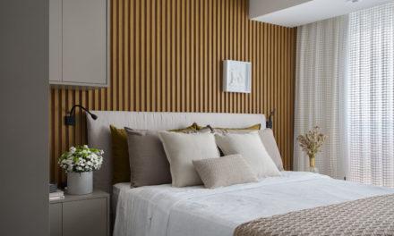 Pequeno apartamento repleto de boas soluções