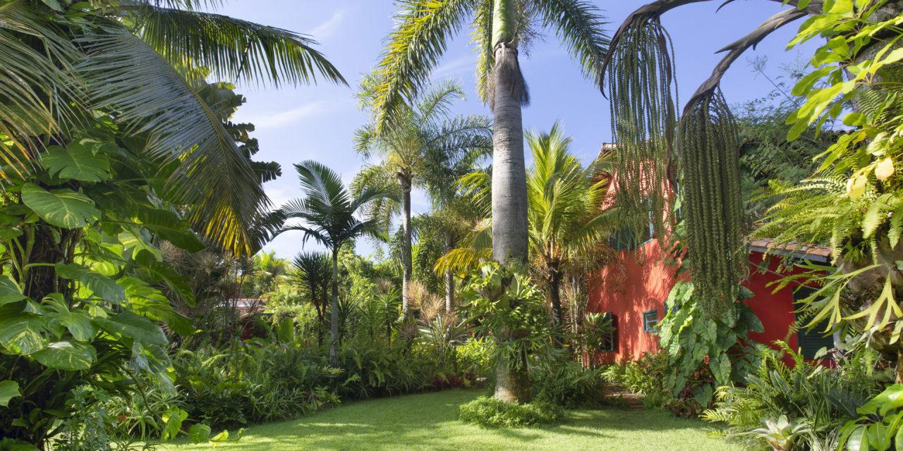 1400m2 de jardins exuberantes na Região dos Lagos