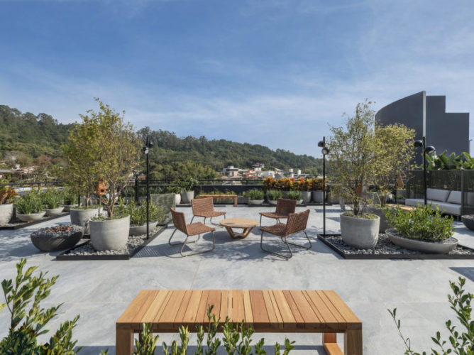 Rooftop da CASACOR Santa Catarina 2021