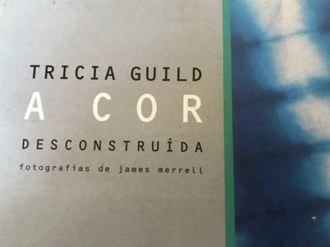 Capa do livro de Tricia Guild, A cor descinstruida