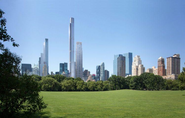 O maior edifício residencial do mundo fica em Nova York, o Central Park Tower
