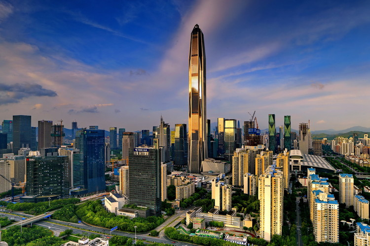Ping An Finance Center, na China.