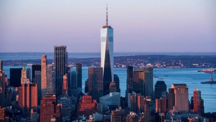 prédios mais altos do mundo. O sexto arranha-céu mais alto do mundo, One World Trade Center, NY.