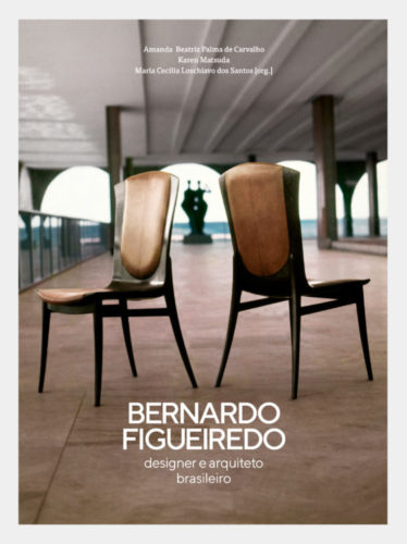 Capa do livro sobre Bernardo Figueiredo, designer e arquiteto brasileiro