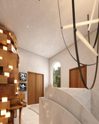 Ambiente virtual, 3D , na mostra Modernos Eternos Rio.